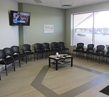 Walk-In Clinic Waiting Room