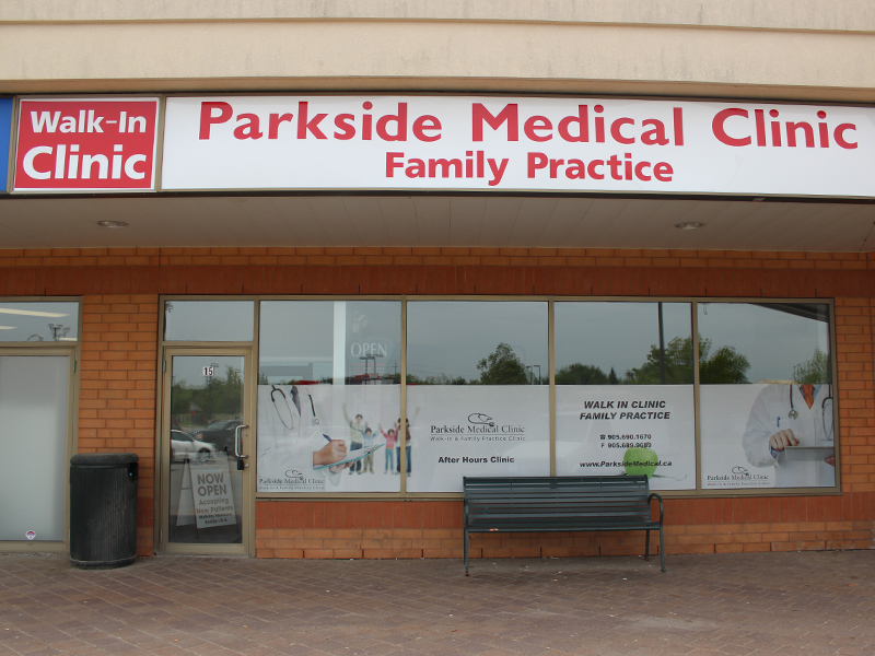 Parkside Medical Office Waterdown Ontario